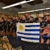 Selección masculina de fútbol sub-23 recibió Pabellón Nacional antes de partir a Colombia