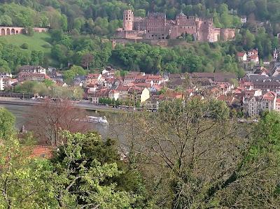 Altstadt Heidelberg mit Schloss