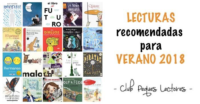 cuentos libros lecturas recomendadas verano 2018 para niños y jóvenes