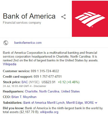 Banks in America | Top Banks for Checking Accounts (List of four Biggest Bank in America)