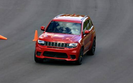 Jeep Grand Cherokee SRT Trackhawk 2018
