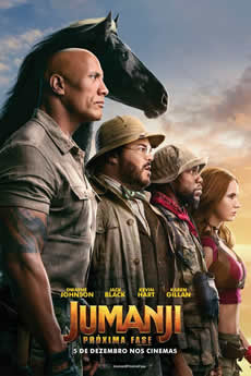 Capa Jumanji – Próxima Fase – Torrent 2020 Legendado BluRay 720p e 1080p Download