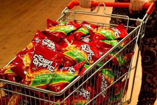Bild des Tages - Einkauf für Kindergeburtstag
