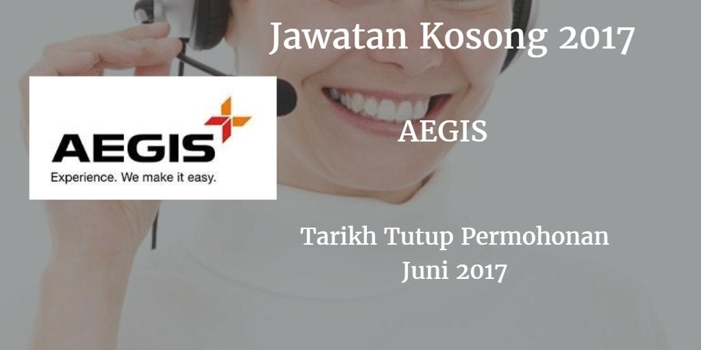 Jawatan Kosong AEGIS Juni 2017