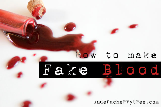http://underacherrytree.blogspot.com/2012/09/how-to-make-fake-blood.html