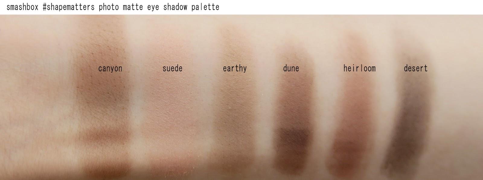 Smashbox Photo Matte Eye Palette Mascara Review Swatches