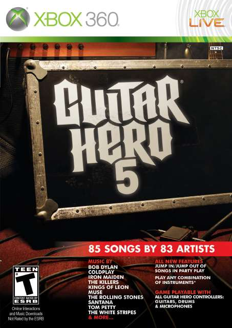 Guitar Hero 5 [Region Free][ISO] - Download Game Xbox New Free