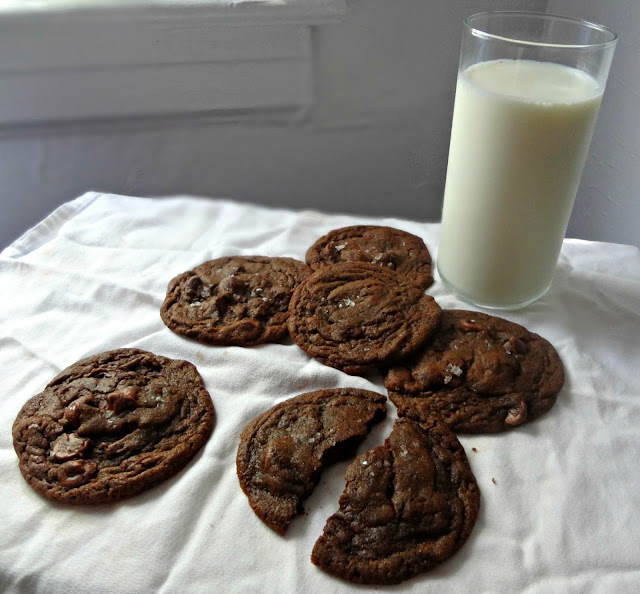 Triple Threat Chocolate Peanut Butter Cookies