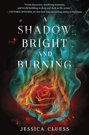 A Shadow Bright and burning Jessica Cluess cover