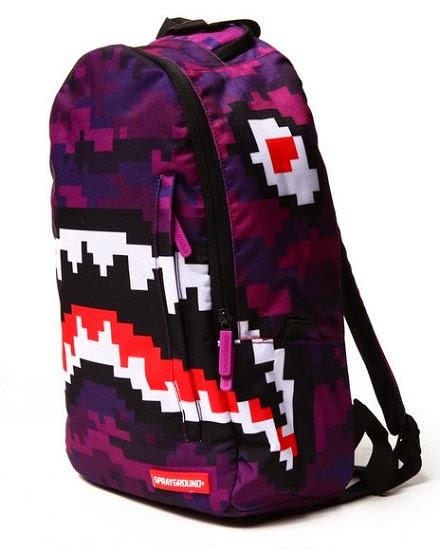 "Bape Shark Backpack >> no mas pantalones: INSPIRED ATTIRE: ""SHARK WEEK"" 2014"