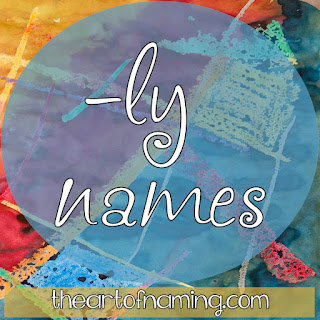 The Art of Naming - boy names and girl names that end with ly - lee sound