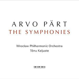 Arvo Pärt The Symphonies - ECM New series