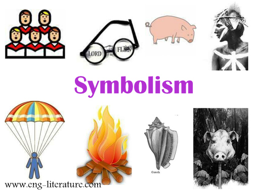 "Discuss the use of Symbolism in Golding's Novel, ""Lord of the Flies"""