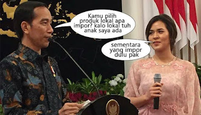 16 Meme 'Raisa dan Jokowi' Ini Drama Banget, Bikin Ngakak Gimana Gitu