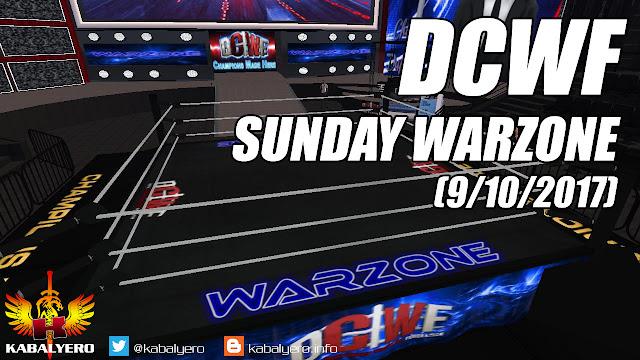 DCWF Sunday Warzone (9/10/2017), Ace vs Sparkles, Kaci vs Jaxi & Ery vs Hamada