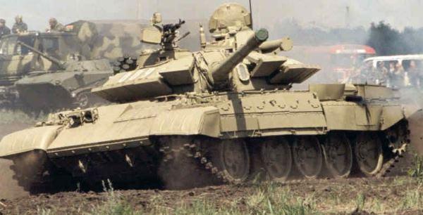 T-55 AM2 Carro de combate médio