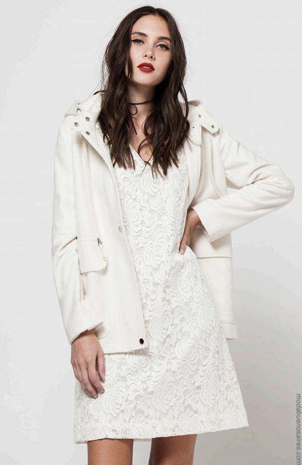 Moda invierno 2017 camperas de mujer. Ropa de moda mujer.