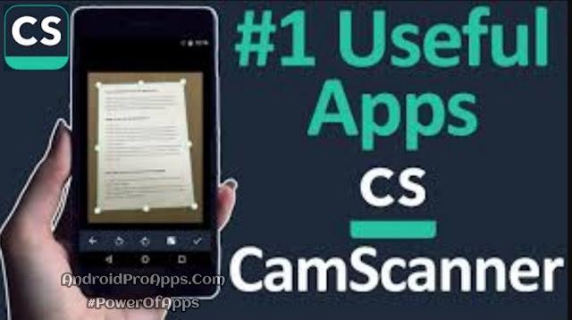 تحميل تطبيق CamScanner Phone PDF Creator V5.9.0 Premium APK كامل نسخه بريميوم