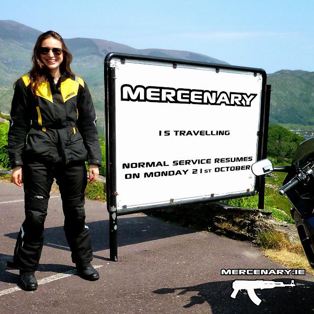 Mercenary Is Traveling