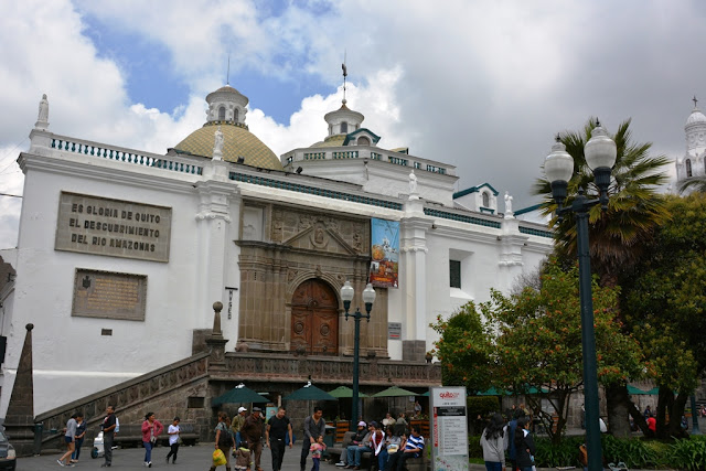 First cathedral Quito