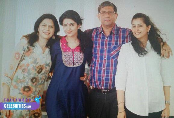 Deeksha Seth Family
