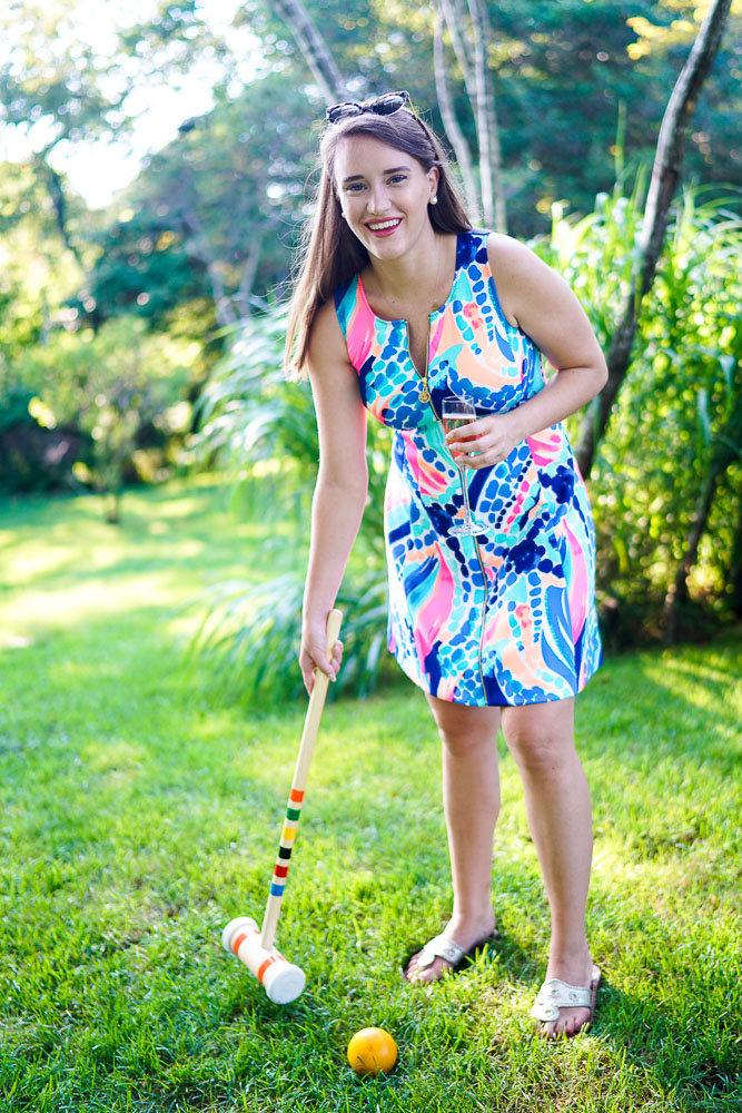 Lilly Pulitzer Sally Fit & Flare Dress, croquet