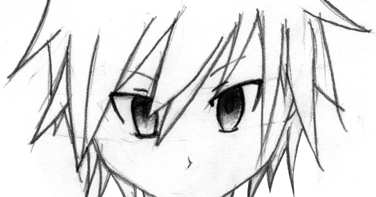 code domain: Cara menggambar Muka Anime