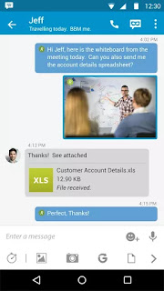 Free Download Latest New 2016 Version BlackBerry Messenger APK For Android and Tablets