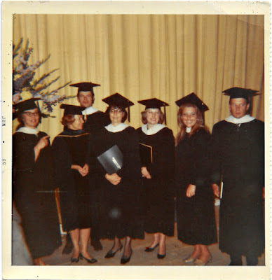 San Francisco State University Russian Department Graduation 1969