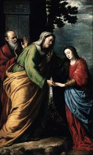 La Visitación de la Santísima Virgen a Santa Isabel