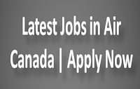 Latest Jobs in Air Canada