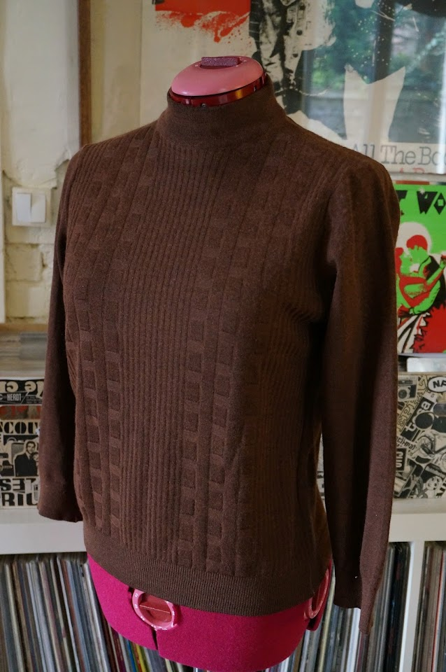 60s sweater mod 1960s pull années 60 vintage