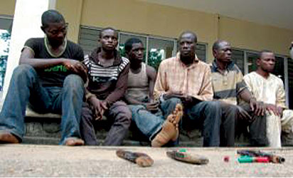 armed robbers arrested ibadan oyo state