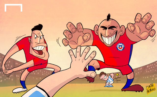 Vidal and Sanchez to face Argentina