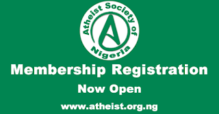 Atheist Society of Nigeria, Membership Registration