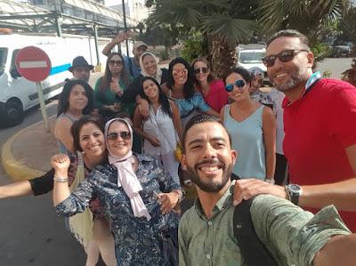 Une action humanitaire à l'hôpital Moulay Youssef de Casablanca par Association humains sans frontières