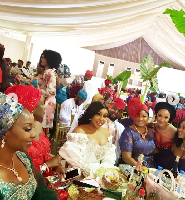 Actress Omotola Jolade Spotted With Some Nollywood Superstars As She Emerged City people Movie Icon of the Year.