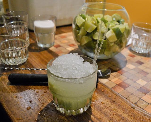 Las Iguanas cocktail.