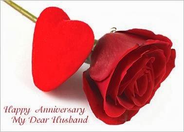 anniversaire de mon mari