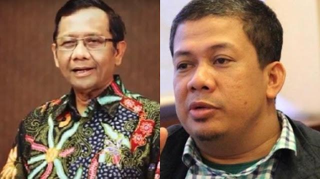 Cuitan Mahfud MD ini Membuat Fahri Membandingkan Pemerintah Indonesia dengan Malaysia