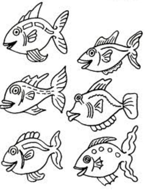 small fish coloring pages for kids gt gt disney coloring pages
