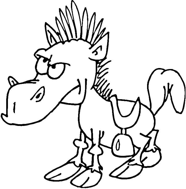 Unicorn Paard Kleurplaat Desenhos De Mam 237 Feros Para Colorir