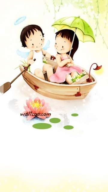 Cute Animated Dolls Wallpapers Free Mobile Wallpaper Download Free Wallpaper Nokia Oro