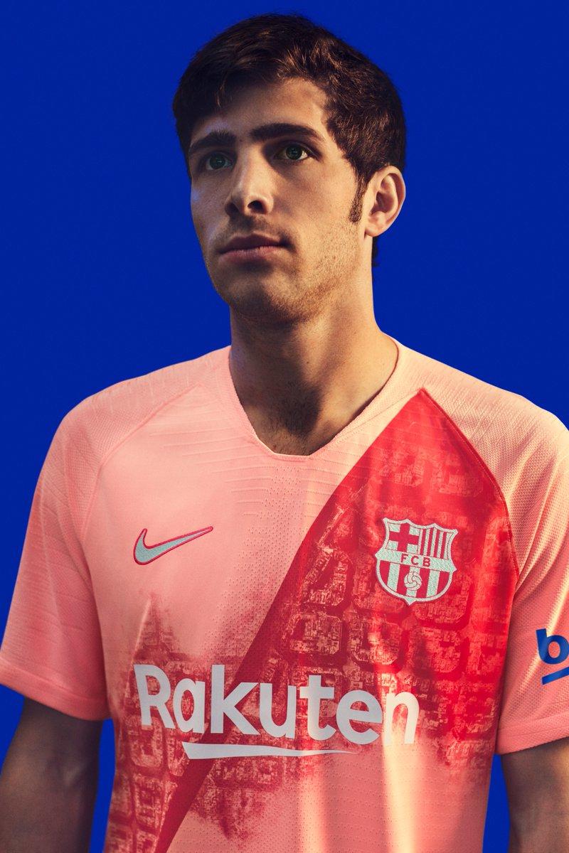 b5cae6782 Nike FC Barcelona 18-19 Third Kit Released - Footy Headlines