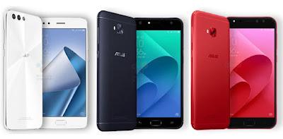 5 smartphone baru oktober 2017
