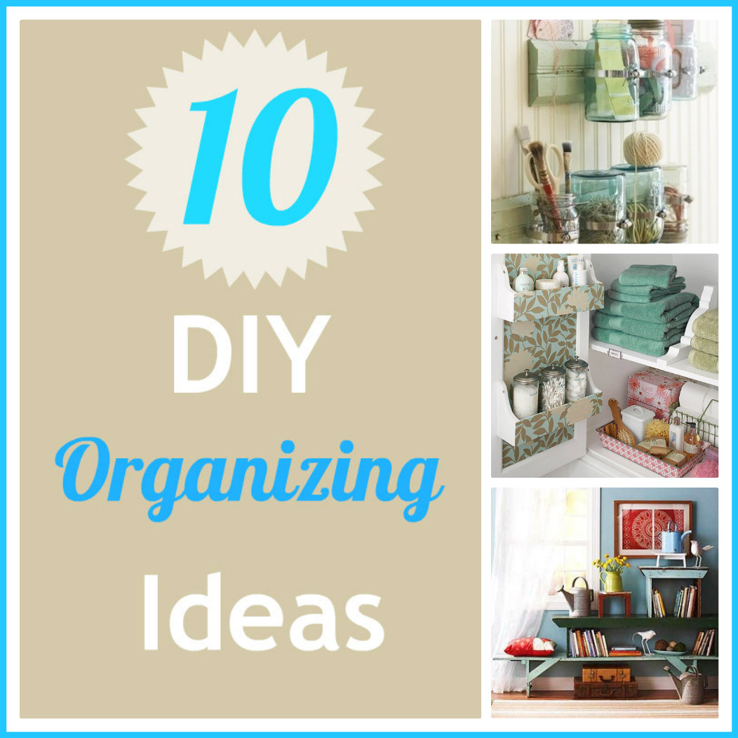Life With 4 Boys: 10 DIY Organizing Ideas Inspired by Pinterest