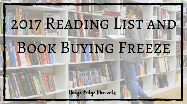 2017 Reading List and Book Buying Freeze