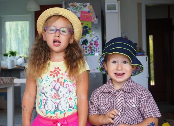 organizacja poranków w rodzinie wielodzietnej - starszaki gotowe do przedszkola