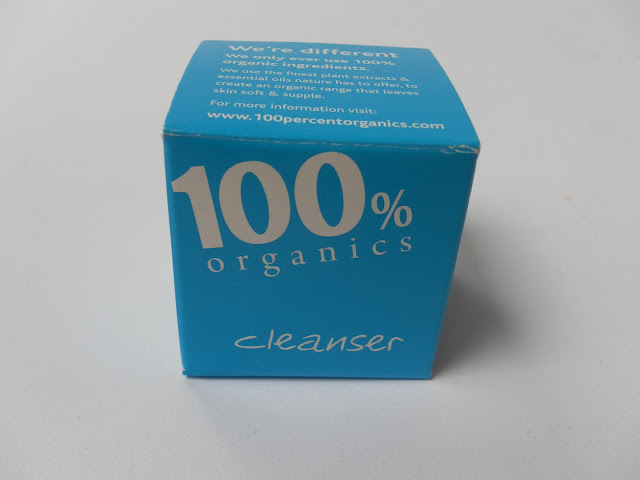 A picture of 100% Organics Cleanser