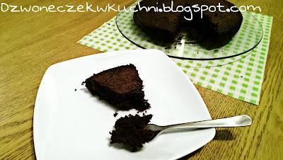 Proste, jednomiskowe czekoladowe ciasto (może być na blaty na tort)